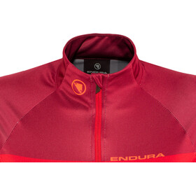 Endura Hyperon II Jersey shortarm Dam red